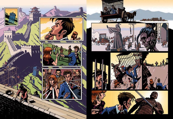 graphic novel Dr Who
